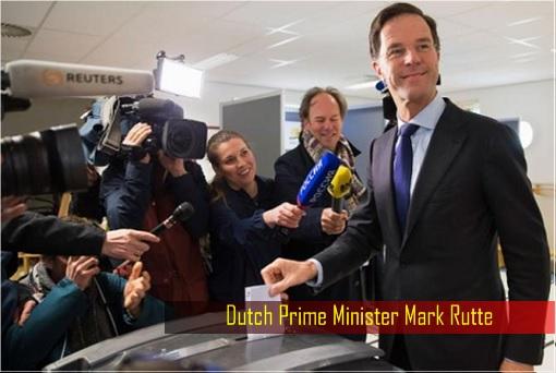 Netherlands Referendum - EU-Ukraine Trade Deal - Dutch Prime Minister Mark Rutte cast his vote