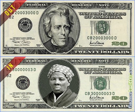 New $20 Twenty Dollar Currency Note - Andrew Jackson Out - Harriet Tubman In