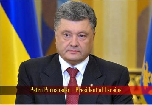 Petro Poroshenko - President of Ukraine