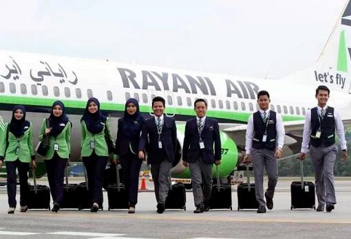 Rayani Air - Crew Walking From Plane