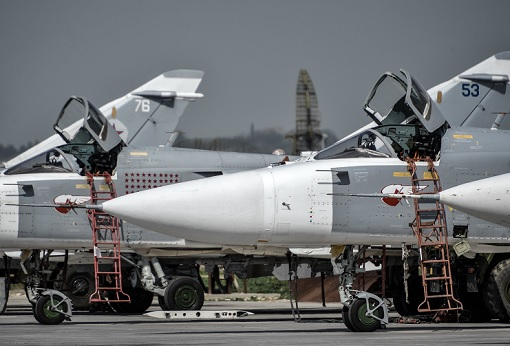 Russia Sukhoi Su-24 Staying in Syria