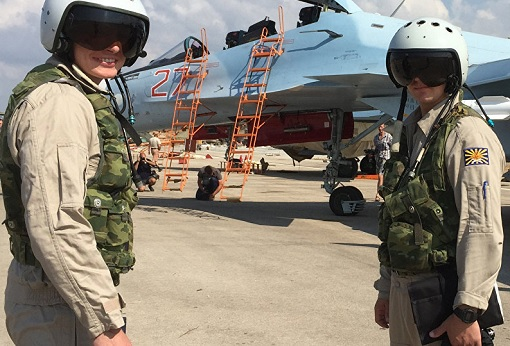 Russian Forces Presence - Hmeymim Airbase Syria