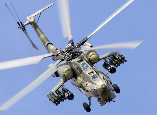 Russian Mi-28N Attack Helicopter 2 - Syrian War