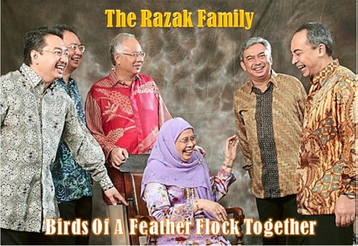 The Razak Family - Birds Of A Feather Flock Together