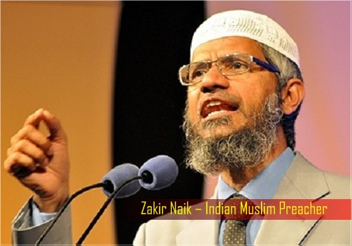 Zakir Naik - Indian Muslim Preacher - Giving a Speech