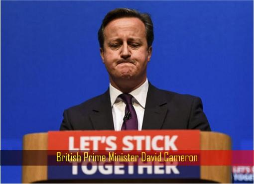 Brexit - British Prime Minister David Cameron - Let's Stick Together