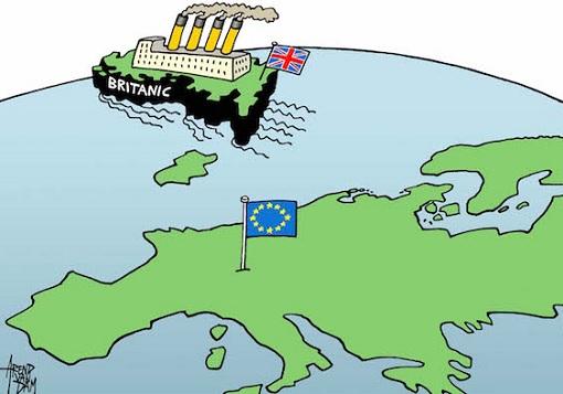 Brexit - UK Britanic Ship Leaving EU