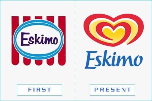 Eskimo - First and Present Logo