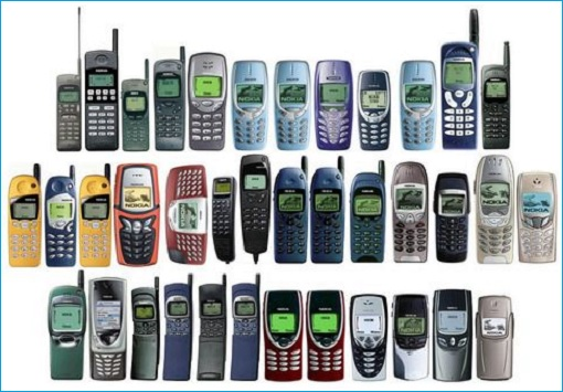 Nokia Phones - 1990s