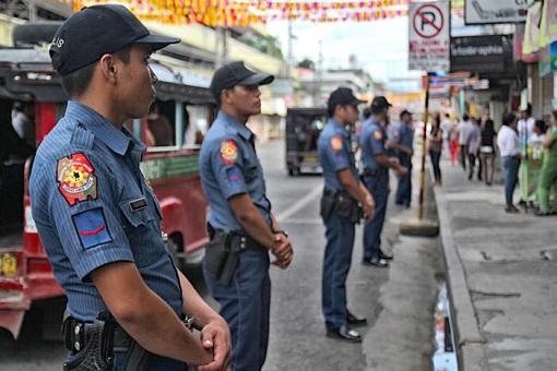 Philippine Elections 2016 - Davao City Policemen
