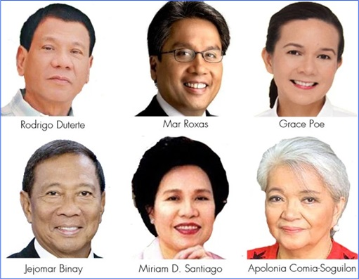 Philippine Elections 2016 - Presidential Candidates