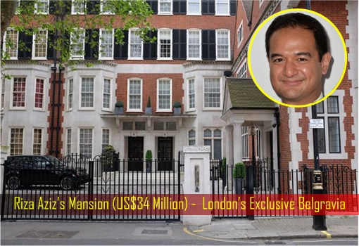 Riza Aziz's Mansion (US$34 Million) - London's Exclusive Belgravia