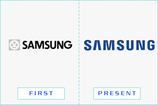 Samsung - First and Present Logo