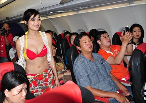 Vietnam VietJet Airline - Sexy Bikini Attendants 6