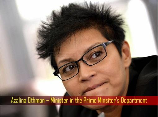 Azalina Othman – Minister in the Prime Minsiter's Department