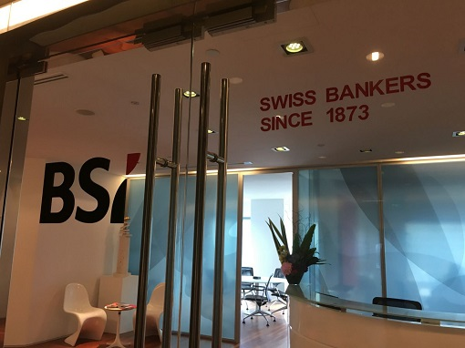 BSI Bank Singapore - Office - Swiss Bankers Since 1873