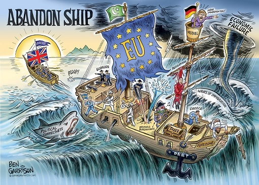 Brexit - UK Abandon EU Sinking Ship