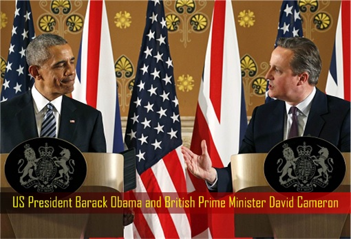 Brexit - US President Barack Obama and British Prime Minister David Cameron