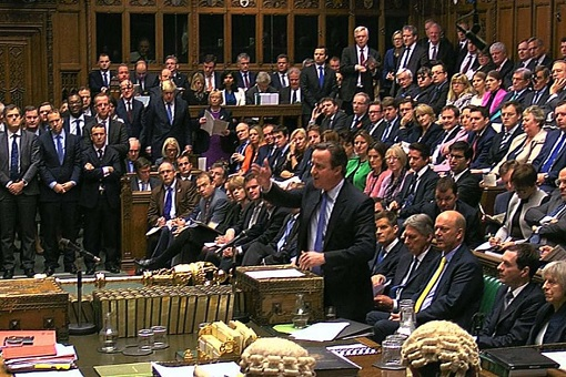British MPs in Parliament