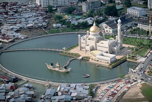Brunei - Mosque