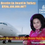 Take A Tour Inside Emirates Airbus A319 That Rosmah Took For Her Cheap Award