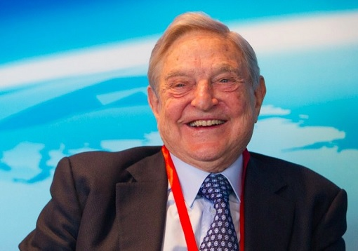 George Soros - Happy and Laughing