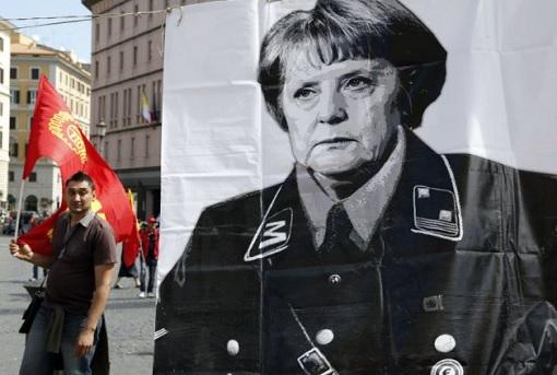 Germany Dictator Angela Merkel