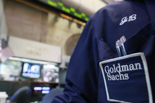 Goldman Sachs - Logo on Trader Shirt