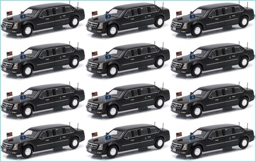 President Limousine - The Beast - 12 Units In Service At Any Given Time