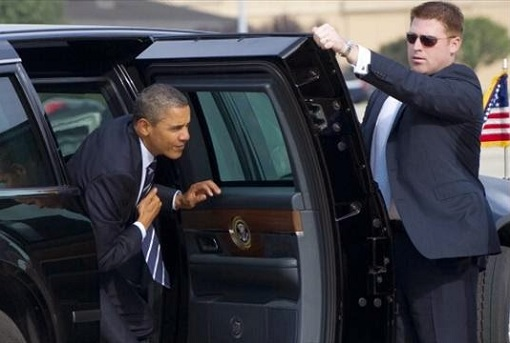 President Limousine - The Beast Has Door Armour 8-Inches Thick