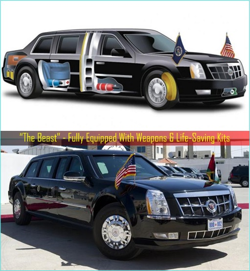 President Limousine - The Beast Is Fully-Equipped
