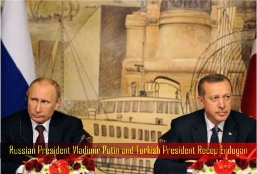 Russian President Vladimir Putin and Turkish President Recep Erdogan