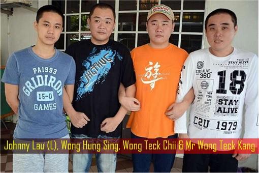 Sarawakians Kidnapped by Abu Sayyaf - Johnny Lau, Wong Hung Sing, Wong Teck Chii & Mr Wong Teck Kang