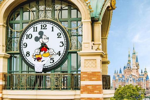 Shanghai Disneyland - Mickey Mouse Clock