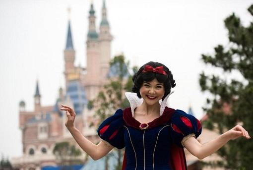 Shanghai Disneyland - Snow White
