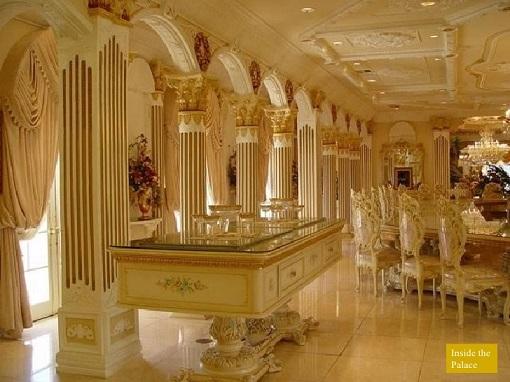 Sultan Hassanah Bolkiah - Inside Palace
