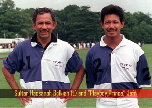 "Sultan Hassanah Bolkiah and ""Playboy Prince"" Jefri"