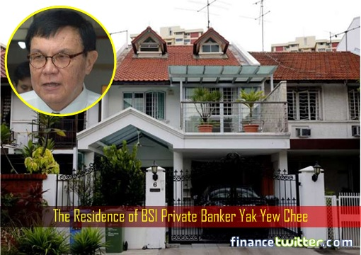 The Residence of BSI Private Banker Yak Yew Chee