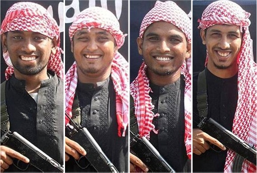 Bangladesh Dhaka ISIS Terrorist Attack - Photo of Attackers