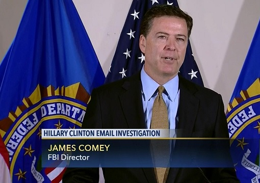 FBI Director James Comey - Hillary Clinton Email Scandal