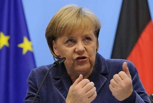 Germany Terror Attacks - Defiant Chancellor of Germany Angela Merkel 2