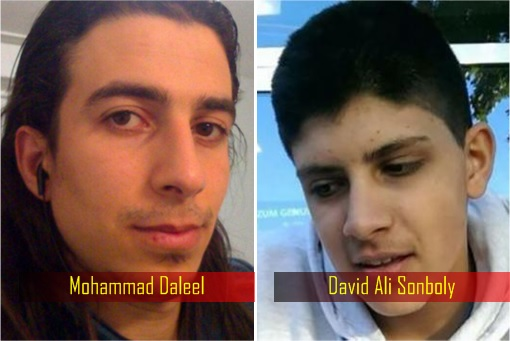 Germany Terror Attacks - Mohammad Daleel and David Ali Sonboly