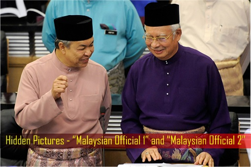 "Hidden Pictures - ""Malaysian Official 1"" and ""Malaysian Official 2"""