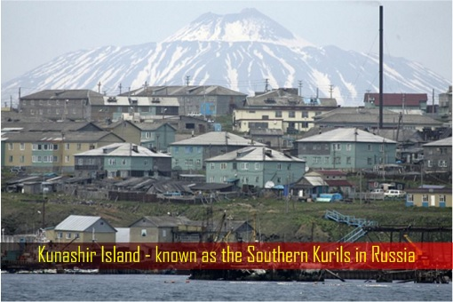 Kunashir Island - known as the Southern Kurils in Russia