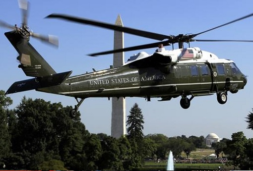 Marine One - President of the United States Helicopter