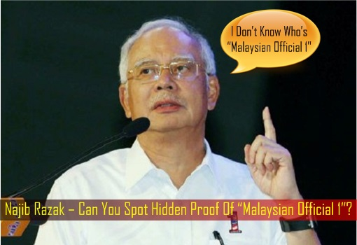 Najib Razak – Can You Spot Hidden Proof Of Malaysian Official 1