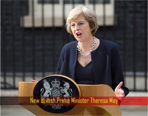 New British Prime Minister Theresa May Speech at 10 Downing Street
