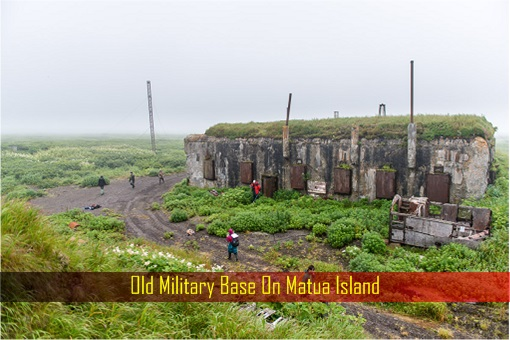 Old Military Base on Matua Island