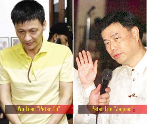 Philippines Drug Lord - Wu Tuan Peter Co and Peter Lim Jaguar