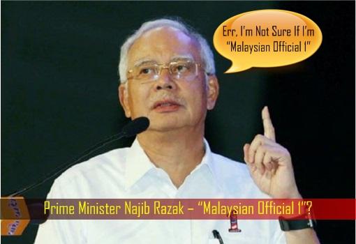 Prime Minister Najib Razak – Malaysian Official 1